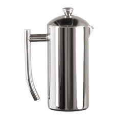 Frieling USA French Press Coffee Maker With Patented Dual Screen, Polished 17 oz