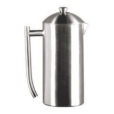 Frieling Brushed 18/10 Stainless Steel French Press Coffee Maker, 36-Ounce