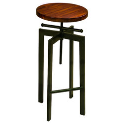 Industrial Bar Stools And Counter Stools by Progressive Furniture