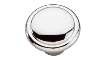"Conquest Knob, 1-3/8"" Diameter, Chrome"