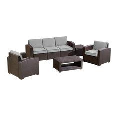 Duramax Cedarrattan Large Patio Sofa Set