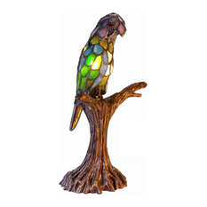 Gentil Warehouse Of Tiffany, Inc   Tiffany Style Parrot Accent Lamp   Table Lamps