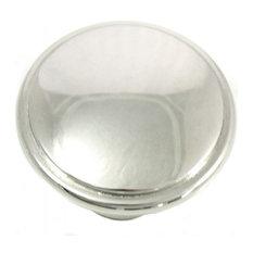 "1 1/4"" Knob - Grace - Polished Nickel"