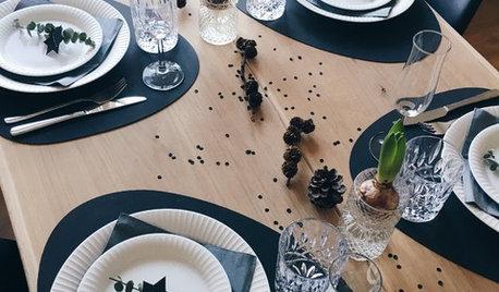 Prost Neujahr: Eine schnelle und günstige Tischdeko für Silvester