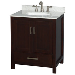 Abbey Bath Vanity Transitional Bathroom Vanities And