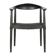 Safavieh Bandelier Arm Chair, Black