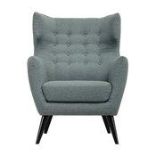 Kanion Single Seater Lounge Chair/Sofa, Whale Blue