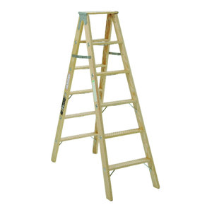 Brandtworks 72 Quot Decorative Blanket Ladder Weathered Gray