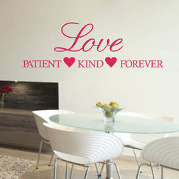 Fresh Contemporary Wall Decals by Colorful Wall Decals INC