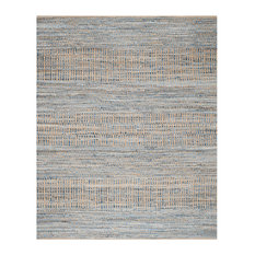 Safavieh Cape Cod Collection CAP353 Rug, Natural/Blue, 8'x10'