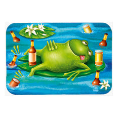 Frog Drinking Beer Glass Cutting Board, Large