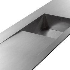 - Vask med drypbakke HS3DB - Køkkenvaske