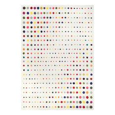 nuLOOM Polka Dots Area Rug, Multi, 9'x12'