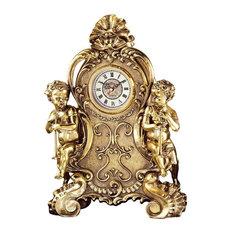 Saint Remy Cherub Clock