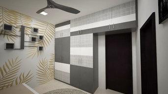 3BHK - contemporary home