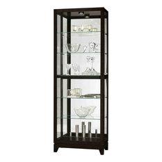 Howard Miller Luke Display Cabinet, Black