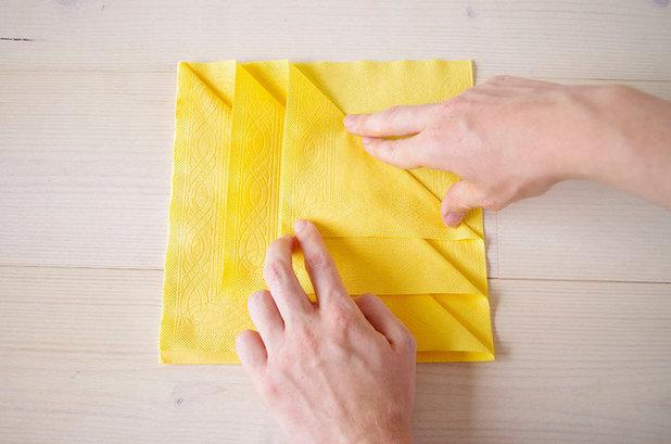 Bestecktaschen Falten wie sie aus servietten eine bestecktasche falten