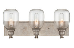 Savoy House Orsay 3 Light Bath, Industrial Steel - 8-4334-3-27