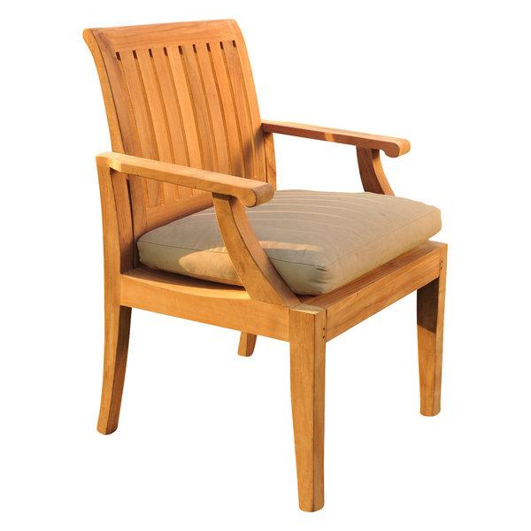 Lagos Arm Chair - Outdoor Teak Furniture Chair for Patio