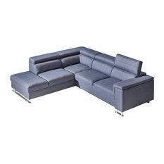 NOBOS Sectional Sleeper Sofa Left Corner