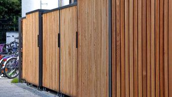 Mütos – Design Mülltonnenboxen