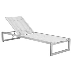 Beach Style Outdoor Chaise Lounges by Pangea Home