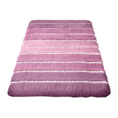 Eco Living Crocus Machine Washable Bathroom Rug, Phoenix, Large