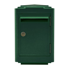French 1945 Letter Box, Green