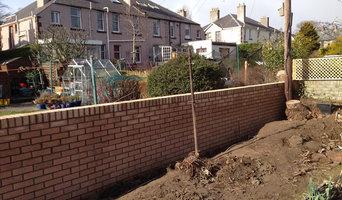 New brick wall