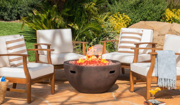 Fire Pits and Lounge Chairs With Free Shipping