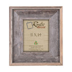 "Enid Premium Reclaimed Rustic Barn Wood Wall Frame, 11""x14"""