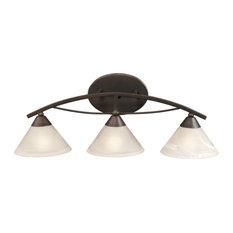 Elysburg 3-Light Vanity, Oil Rubbed Bronze
