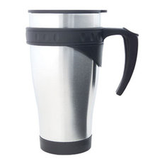 Signature Thermal Travel Mug , Stainless Steel, Stainless Steel, 16oz