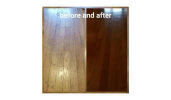 Before & After Wood Floors Refinishing in Woonsocket, RI