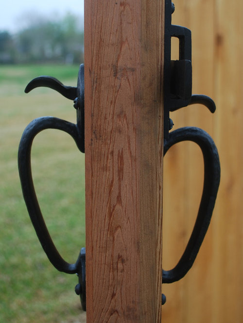 double sided gate