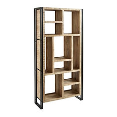 Cosmos Industrial Multi-Shelf Bookcase