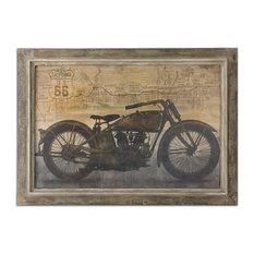"Uttermost ""Ride"" Framed Art, 41.5""x29.5"""