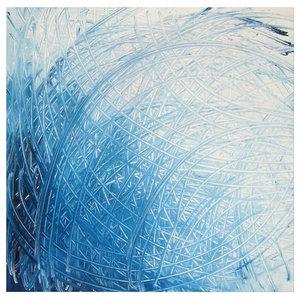 "Darco Arte ""Scie 370"" Painting, 80x80 cm"