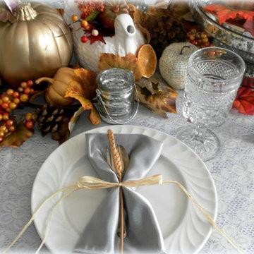 Thanksgiving Dinner Place Setting