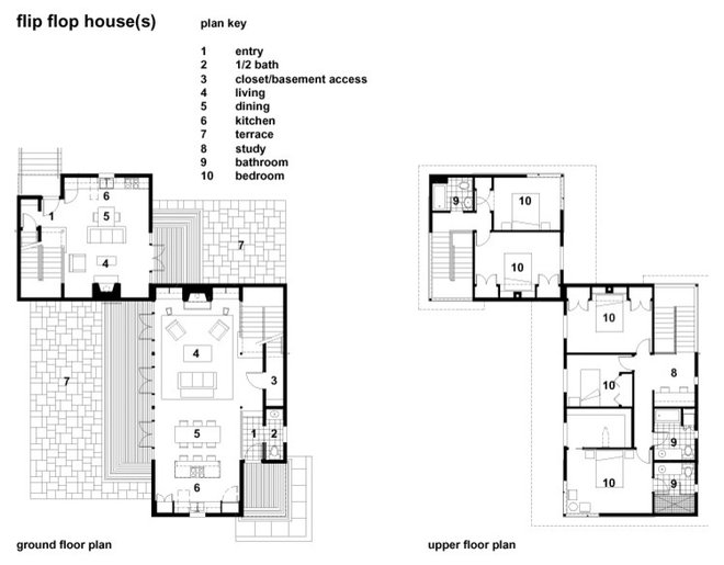 Floor Plan by Mohler + Ghillino Architects
