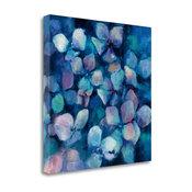 """""""Midnight Blue Hydrangeas"""" By Marilyn Hageman, Giclee on Gallery Wrap Canvas"""