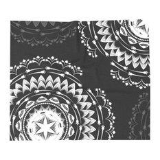 Bohemian Mandala Throw Blanket, Twin