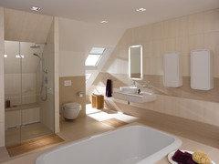 eu gauche lespace idal pour le sche serviette un grand miroir face la baignoire et votre tableau trs beau meuble delpha en face de vous - Meuble Delpha Unique Onde