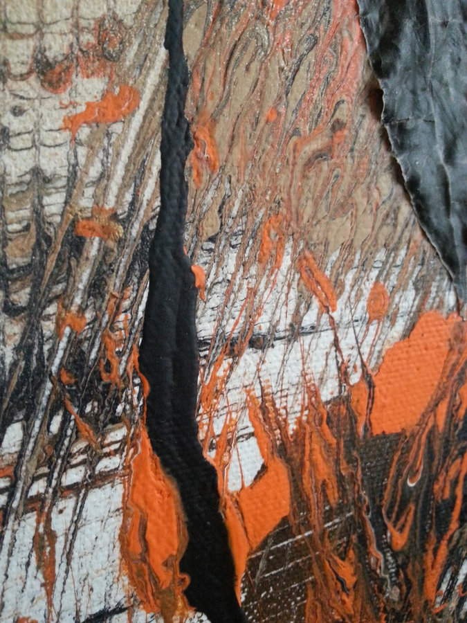 "Detailed shot of ""Touch of Fall"""