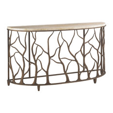 Tommy Bahama Road To Canberra Bannister Garden Console Table 542-967