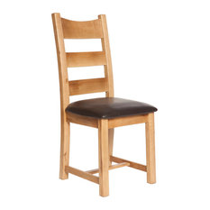 simply casa aylesbury triple ladder back dining chairs set of 2 dining chairs