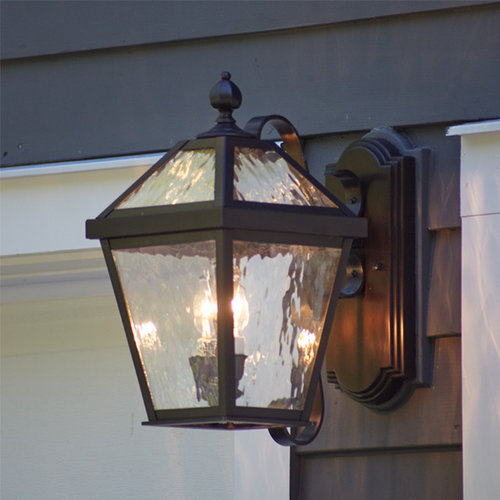 East coast colonial classic outdoor lighting for Outdoor colonial lighting