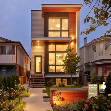 """East Vancouver Passive House """"The Narrow Perspective"""""""