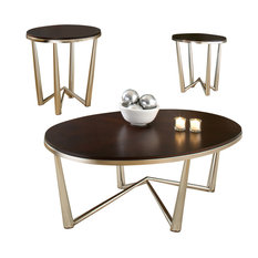 Steve Silver   Cosmo 3 Piece Table Set   Coffee Table Sets