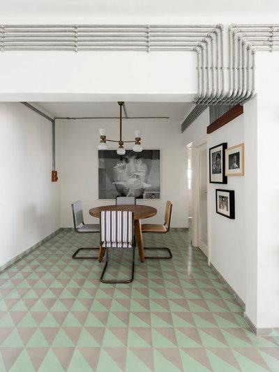Contemporary Dining Room by ravi vazirani design studio